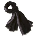 Black with Detail Merona Scarf Target